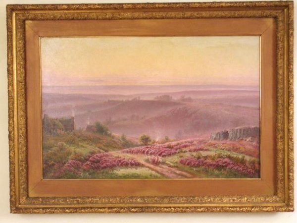 32: GASTON ANGLADE (FRENCH) LANDSCAPE PAINTING