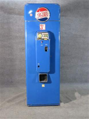 VMC SA144 PEPSI  VENDING MACHINE