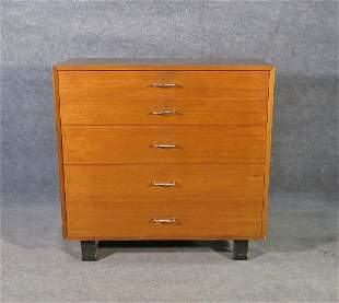 GEORGE NELSON 5 DRAWER CHEST by HERMAN MILLER