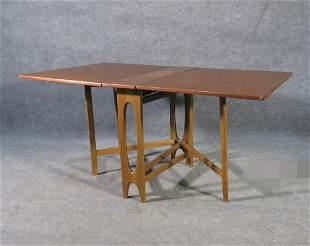 SCANDANAVIAN TEAK DROP LEAF TABLE