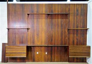 ROYAL INDUSTRIES INC. ROSEWOOD WALL UNIT