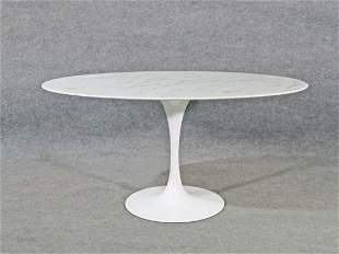 TULIP MARBLE TOP DINING TABLE