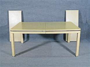 KARL SPRINGER WRAPPED DINING TABLE