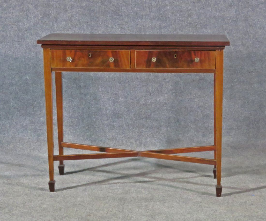 19TH C ENGLISH SERVING TABLE
