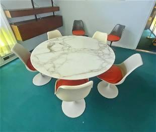 SAARINEN MARBLE TOP TABLE