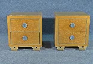 PAIR GILBERT ROHDE STYLE NIGHT STANDS