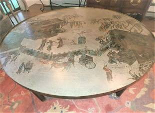 """PHILIP LAVERNE """"CHAN"""" COFFEE TABLE"""
