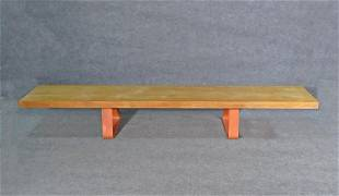 INDUSTRIAL STYLE LONG BENCH
