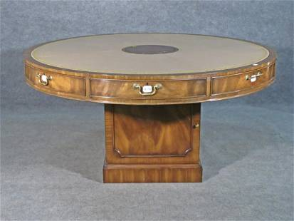 CUSTOM LEATHER TOP RENT TABLE