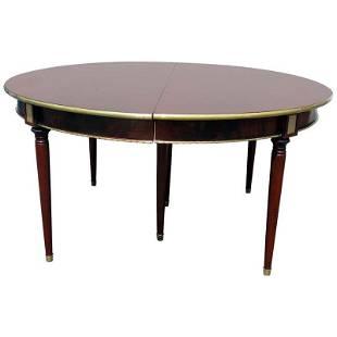 MAISON JANSEN DIRECTOIRE SYTLE DINING TABLE