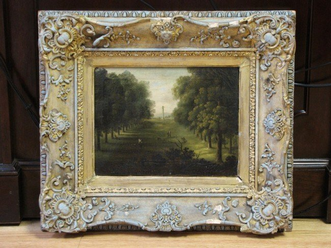 3: 18th c. CONTINENTAL LANDSCAPE PAINTING