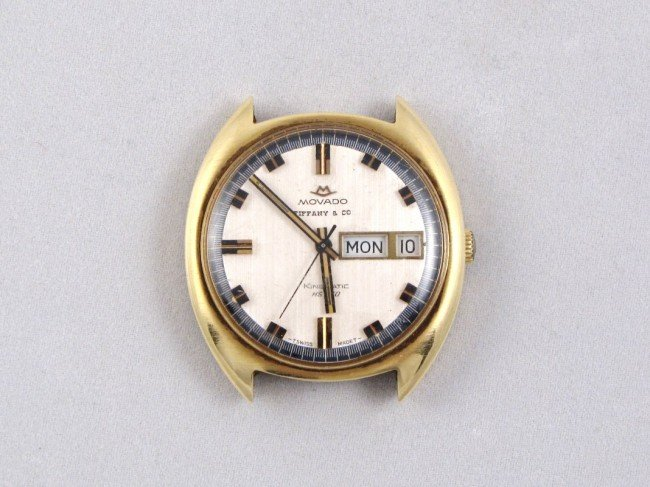 7: MOVADO for TIFFANY & Co. 14K GOLD WATCH
