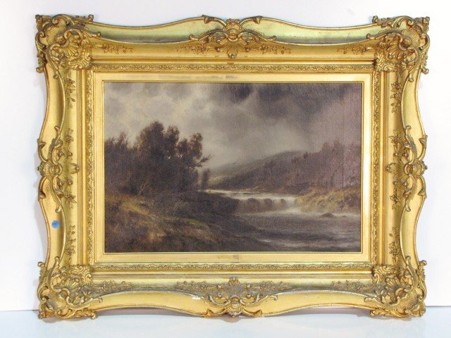 6: THOMAS BAILEY GRIFFIN LANDSCAPE PAINTING