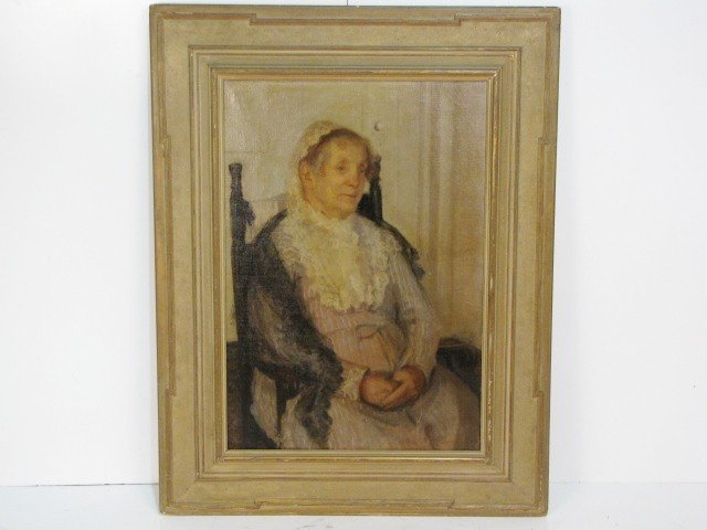 4: MARY FOOTE PORTRAIT PAINTING