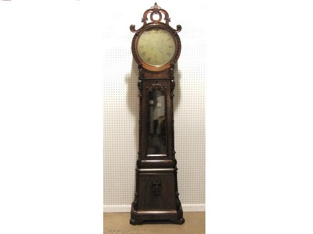 40: 19th c. Wm. ALEXANDER SCOTTISH GRANDFATHER CLOCK