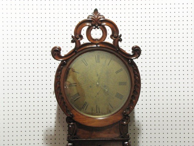 40: 19th c. Wm. ALEXANDER SCOTTISH GRANDFATHER CLOCK - 2