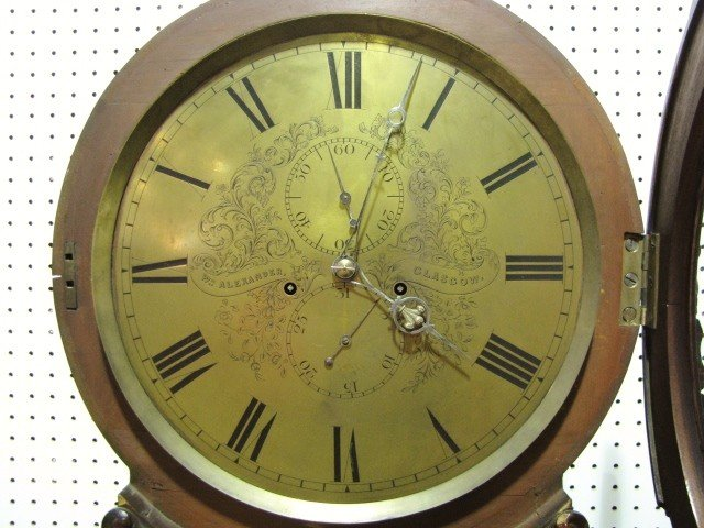 40: 19th c. Wm. ALEXANDER SCOTTISH GRANDFATHER CLOCK - 5