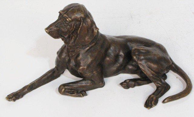 13: NIKOLAI IVANOVICH LIEBERICH RUSSIAN BRONZE DOG
