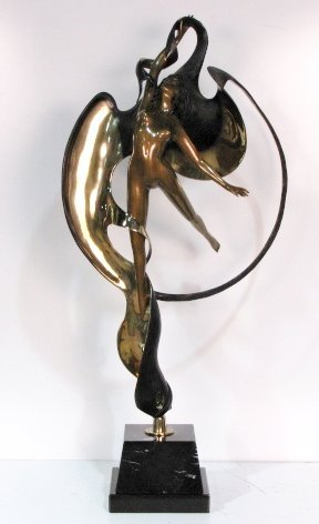 """39"""" ANGELO BASSO BRONZE of a FEMALE NUDE"""