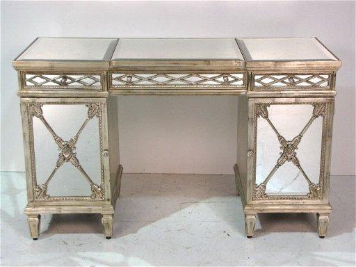 Labarge Mirrored Desk Feb 25 2017