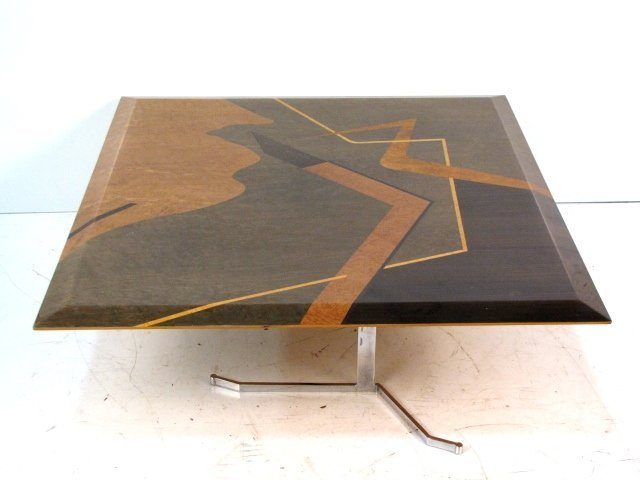 MODERN DESIGN INLAID COFFEE TABLE