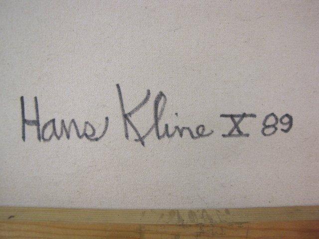 HANS KLINE ABSTRACT MODERN PAINTING - 4