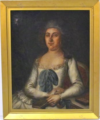 18th c. PORTRAIT PAINTING of COUNTESS MORINI