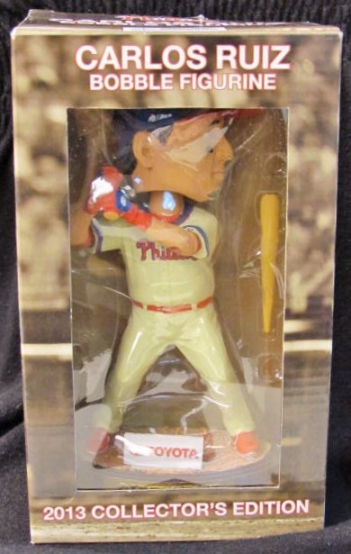 CARLOS RUIZ 2013 COLLECTORS EDITION BOBBLEHEAD