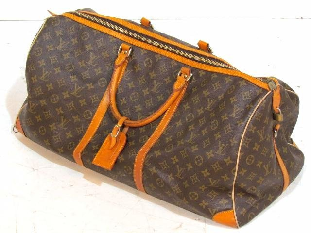 LOUIS VUITTON SOFT SHELL DUFFEL BAG