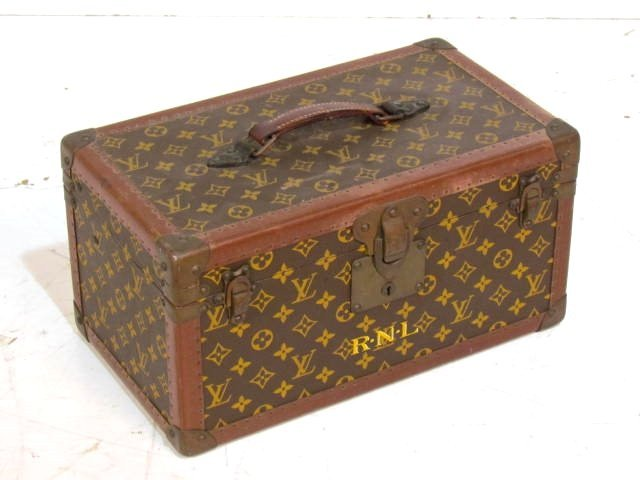 LOUIS VUITTON HARD SHELL TRAVEL CASE