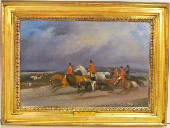 """THE ROYAL HUNT"" attr. HENRY ALKEN"