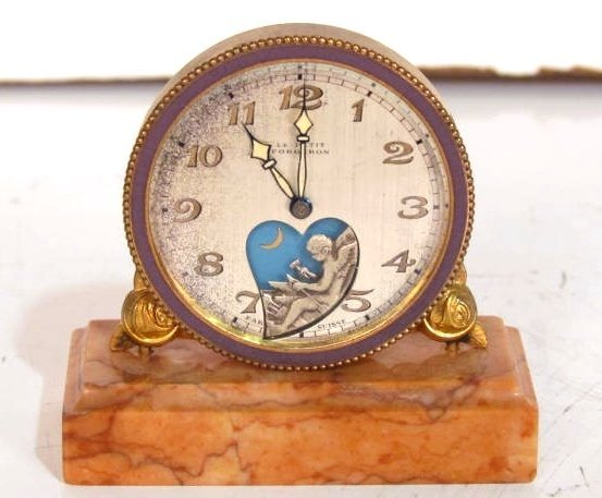 Le PETIT FORGERON FRENCH MINIATURE CLOCK