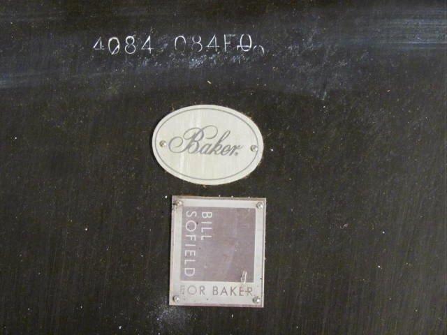 BILL SOFIELD for BAKER OBSIDIAN TUSK TABLE - 4