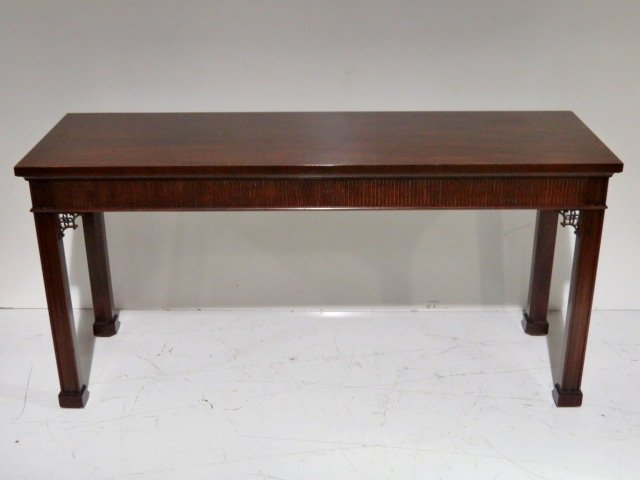 Chinese chippendale console sofa table kittinger chinese chippendale console sofa table geotapseo Gallery