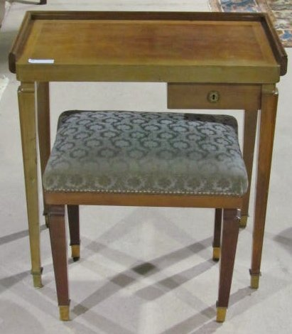 ARBUS STYLE SMALL FRENCH WRITING TABLE