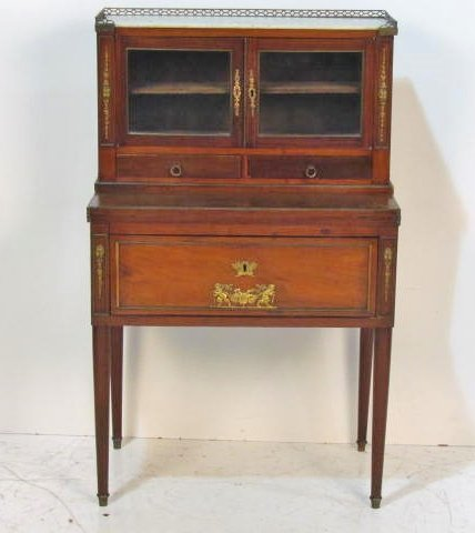 19th c. FRENCH EMPIRE LADIES BONHEUR DU JOUR DESK