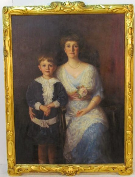 WILLIAM HASKELL COFFIN AMERICAN PORTRAIT PAINTING