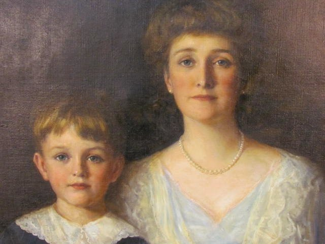 WILLIAM HASKELL COFFIN AMERICAN PORTRAIT PAINTING - 2