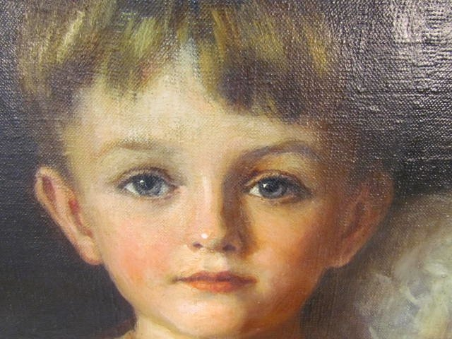 WILLIAM HASKELL COFFIN AMERICAN PORTRAIT PAINTING - 7