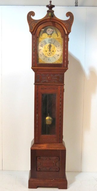 Antique Bailey Banks Biddle Grandfather S Clock Nov 17 2014 Ss Auction Inc In Nj