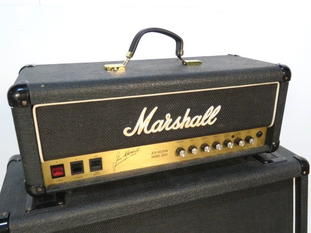 MARSHALL 2553 GUITAR AMPLIFIER & SPEAKER CABINET - 2