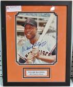 WILLIE McCOVEY SAN FRANCISCO GIANTS SIGNED PHOTO