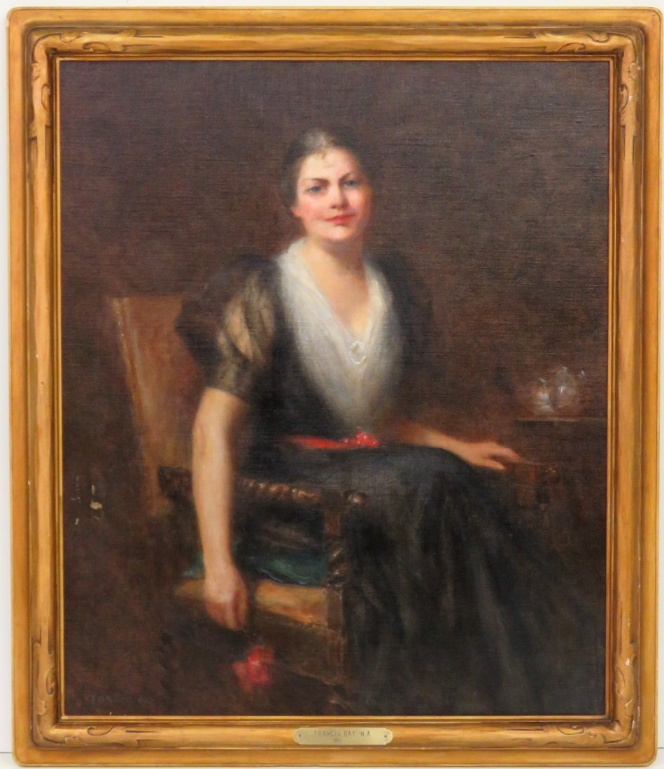 FRANCIS DAY PORTRAIT OF GEORGETTE BORLAND