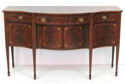 POTTHAST BROTHERS BALTIMORE HEPPLEWHITE STYLE SIDEBOARD
