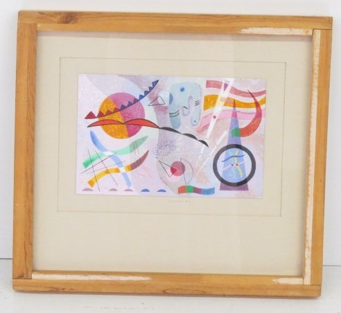 SEYMOUR ZAYON ABSTRACT PAINTING - 2