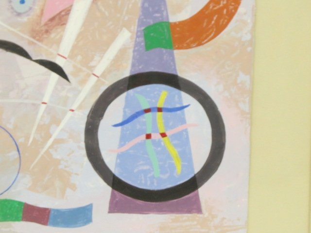 SEYMOUR ZAYON ABSTRACT PAINTING - 4