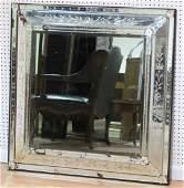 40 SQUARE VENETIAN GLASS WALL MIRROR