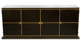 TOMMI PARZINGER 7 ft. INLAID SIDEBOARD