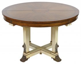 Karges Neoclassical Style Dining Table