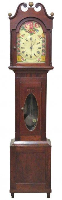 Antique Mahogany Tall Case Clock
